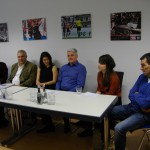 Die Pressekonferenz bei uns im Büro